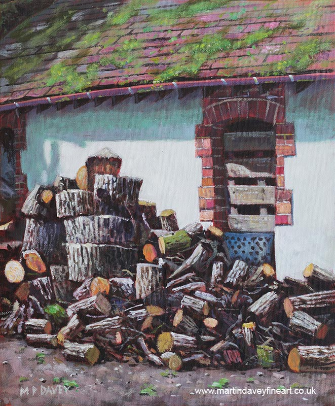 painting_barn_with_log_pile