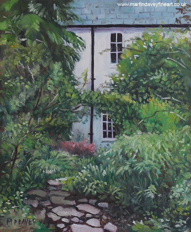 house_at_hillier_gardens painting
